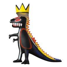Vinyl Collectible Dolls Jean-Michel Basquiat's Dinosaur
