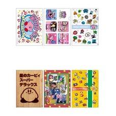 Kirby's Dream Land Clear Folder Set