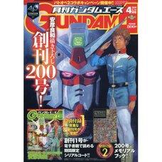 Monthly Gundam Ace April 2019