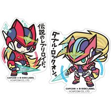 Capcom x B-Side Label Mega Man Sticker Collection Vol. 4