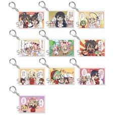 Shinobi Master Senran Kagura: New Link Acrylic Keychain Collection Vol. 1