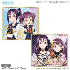 Love Live! Sunshine!! The School Idol Store Saint Snow Mini Illustration Board Set