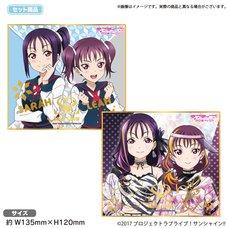 Love Live! Sunshine!! The School Idol Store Saint Snow Mini Illustration Board Set