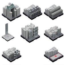 Geocraper 1/2500 Scale Evangelion Tokyo-III Scenery