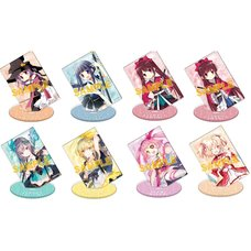Puella Magi Madoka Magica Side Story: Magia Record Stand Pop Big Acrylic Stand Collection Box Set
