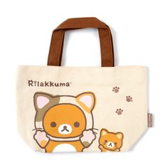 Rilakkuma Motto Nonbiri Neko Mini Tote Bag