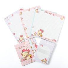 Minna Ichigo ni Naare Korilakkuma Letter Set