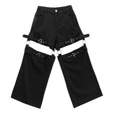 LISTEN FLAVOR Ring Detachable Pants
