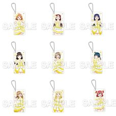 CharaClear Love Live! Sunshine!! Next Sparkling!! Acrylic Keychain Collection