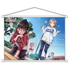 Love Live! Sunshine!! Aqours Dia & You B2-Size Tapestry