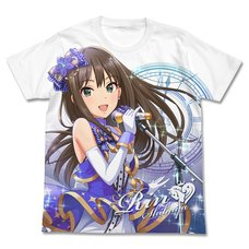 The Idolm@ster Cinderella Girls Stage of Magic Rin Shibuya Full-Color White T-Shirt
