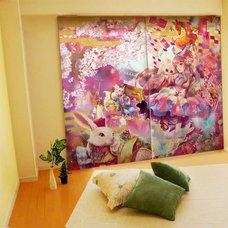Yuu Illustrated Curtains - Alice in Yamatoland