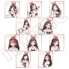 Kizuna AI Mini Shikishi Board Collection Box Set