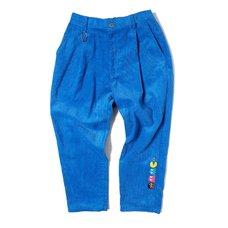 [PDS x Pac-Man] Master Blue Corduroy Pants