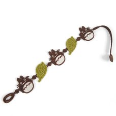 My Neighbor Totoro Totoro & Green Leaf Lace Bracelet