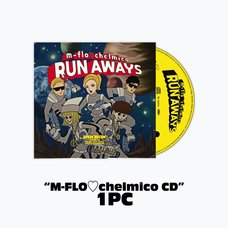 """m-flo loves chelmico """"RUN AWAYS"""" Inkbox Special Pack"""