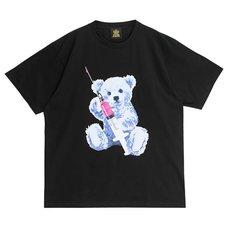 LISTEN FLAVOR 2021 Anniversary Collection Injection Bear Big T-Shirt