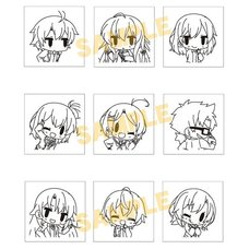 My Teen Romantic Comedy SNAFU Climax Stamp Set