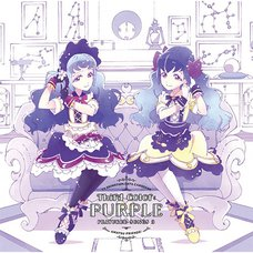 Third Color: Purple | Anime Data Carddass Aikatsu Friends! Insert Song Single Vol. 3