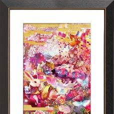 """""""Alice in Ancient Japan"""" Chara Fine Graph Print"""