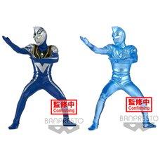 Hero's Brave Statue Ultraman Gaia Ultraman Agul V2