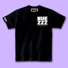 NUEZZZ Square Logo Print Black T-Shirt
