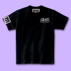 NUEZZZ Nap Logo Print Black T-Shirt