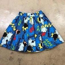 ACDC RAG Balloon Flared Skirt