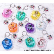 CLAMP 30th Anniversary Trading Gel Keychains Part 1
