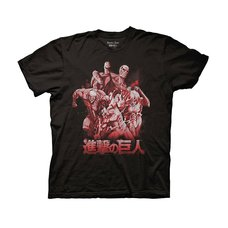 Attack on Titan Season 2 Titans Adult T-Shirt