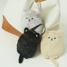 Myu the Cat Smartphone Pouch