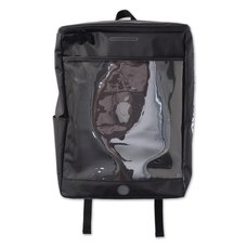 "PDS ""Aitsu""pple Black Square Backpack"