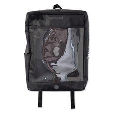 "PDS ""Aitsu""pple Black Square Backpack"