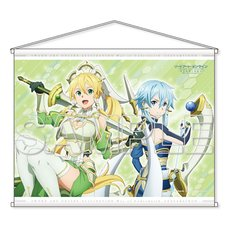 Sword Art Online Alicization: War of Underworld Leafa & Sinon B2-Size Tapestry