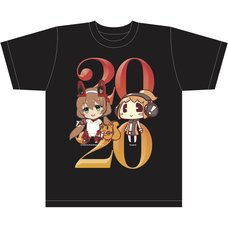 AX Lite x Lis Ani! LIVE T-Shirt A Black