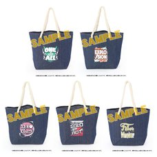 My Hero Academia Denim Tote Bag Collection