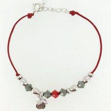 Tales Series Velvet Crowe Cord Bracelet