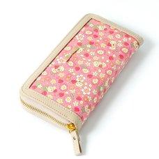 Korilakkuma Strawberry Flower Wallet