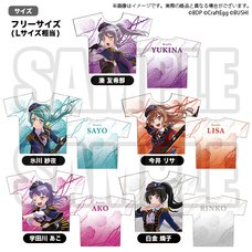BanG Dream! Roselia x RAISE A SUILEN Rausch und/and Craziness Full-Color T-Shirt