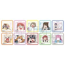 Nijiyon -Love Live! Nijigasaki High School Idol Club Yon Koma- General Election Selected Panels Trading Mini Towels Complete Box Set