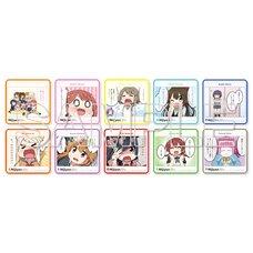 Nijiyon -Love Live! Nijigasaki High School Idol Club Yon Koma- General Election Selected Panels Trading Mini Towels Complete Box Set