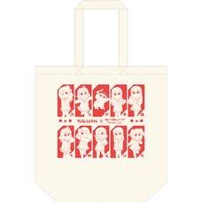 Crayon Shin-chan x Love Live! Sunshine!! Tote Bag