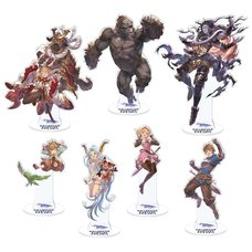 Granblue Fantasy Fes 2018 Acrylic Stand Collection