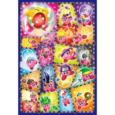 Kirby Super Star Art Crystal Puzzle: Kirby Copy Abilities Collection