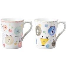 Tempo Comodo Watercolor Animal Mug