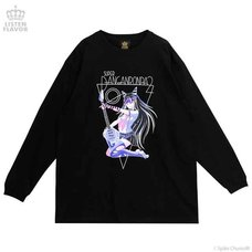 LISTEN FLAVOR x Danganronpa Ibuki Mioda's Rock Star Long-Sleeve T-Shirt