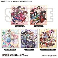 BanG Dream! Girls Band Party! Shikishi Board Collection Vol. 2