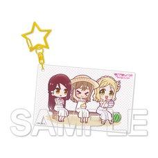 Love Live! Sunshine!! Aqours Riko & Hanamaru & Mari Vol. 10 Acrylic Keychain