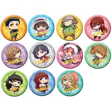 Steins;Gate 0 Character Pin Badge Collection Box Set