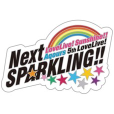 Love Live! Sunshine!! Aqours 5th Love Live! -Next Sparkling!!- Memorial Pin